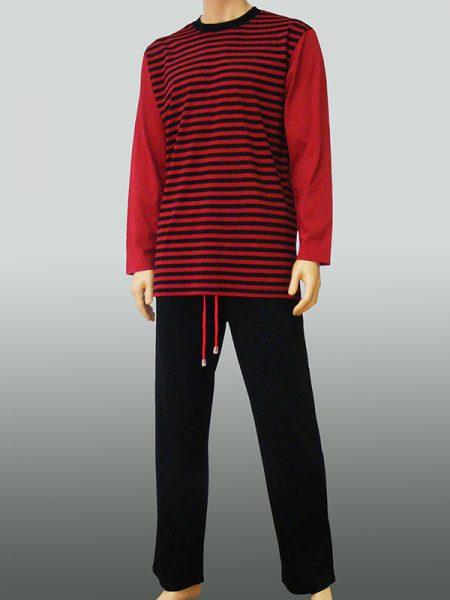 10206 - Black Bordo Stripes